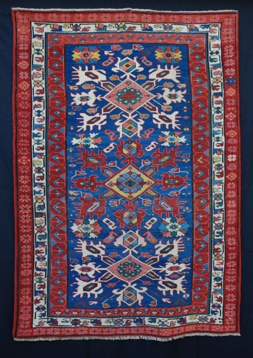 antique seichour rug eastern caucasus