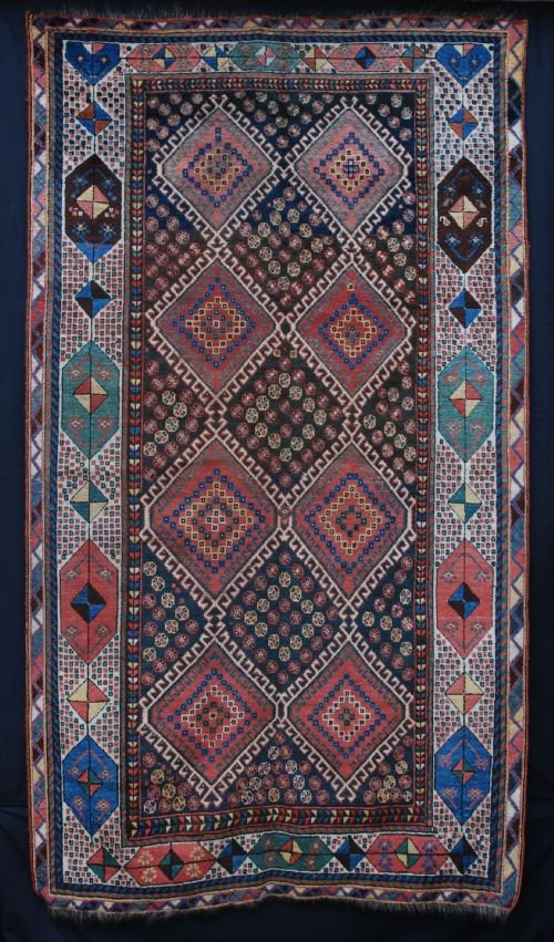 antique luri rug luri tribes west persia