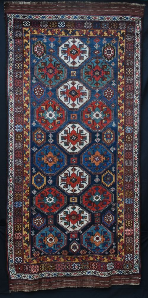 antique varamin carpet north west persia