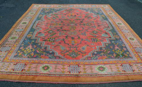 antique ushak carpet south west anatolia