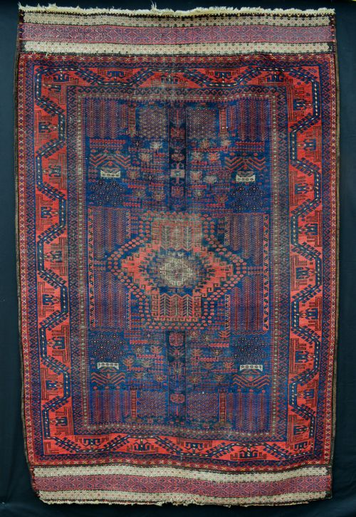 antique timuri main carpet western afghanistan