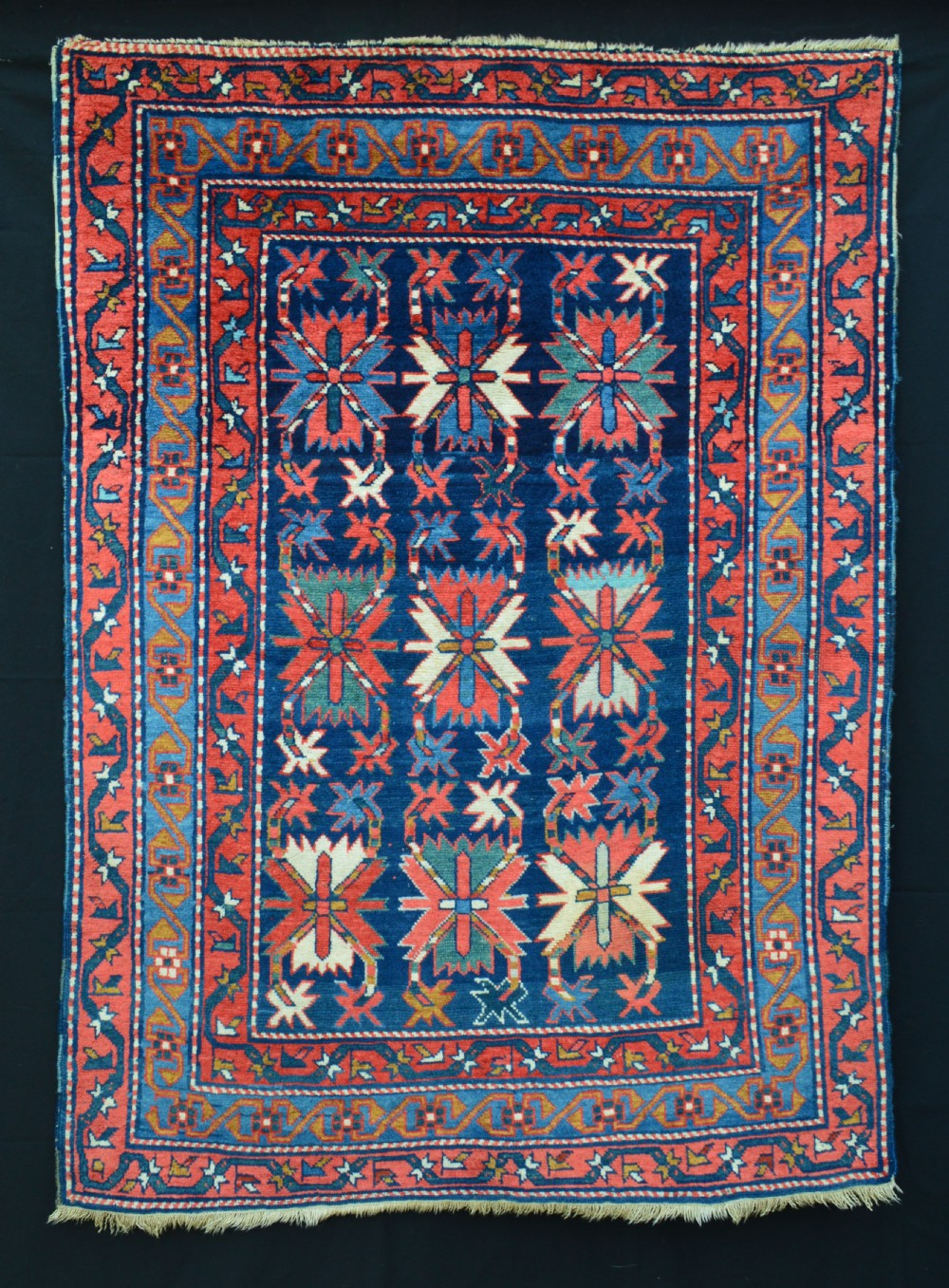 antique erivan rug armenia