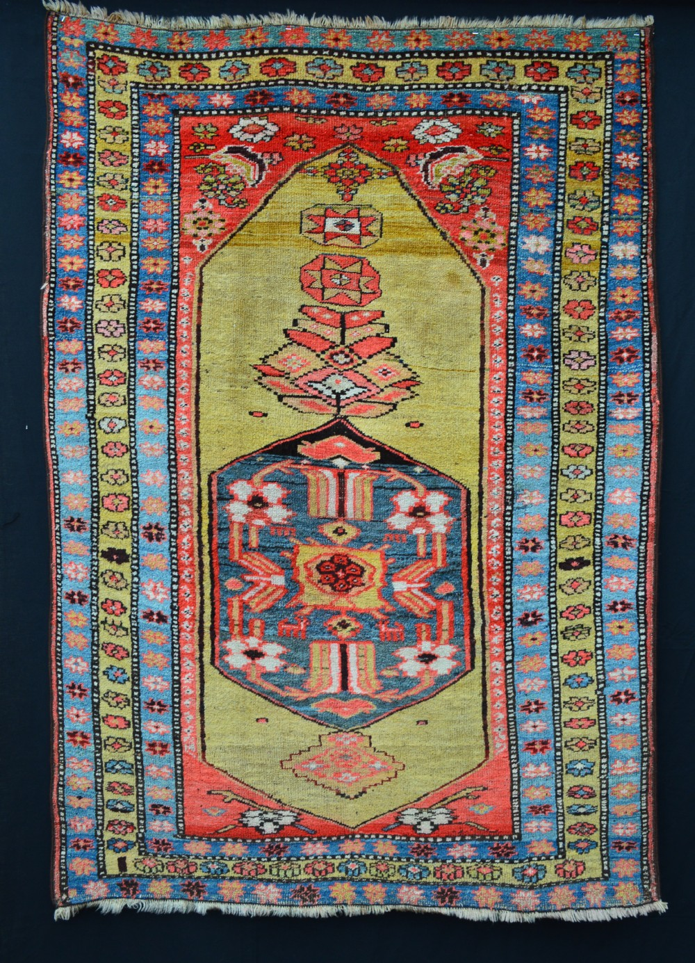 antique bijar rug kurdish tribes of bijar persian kurdistan