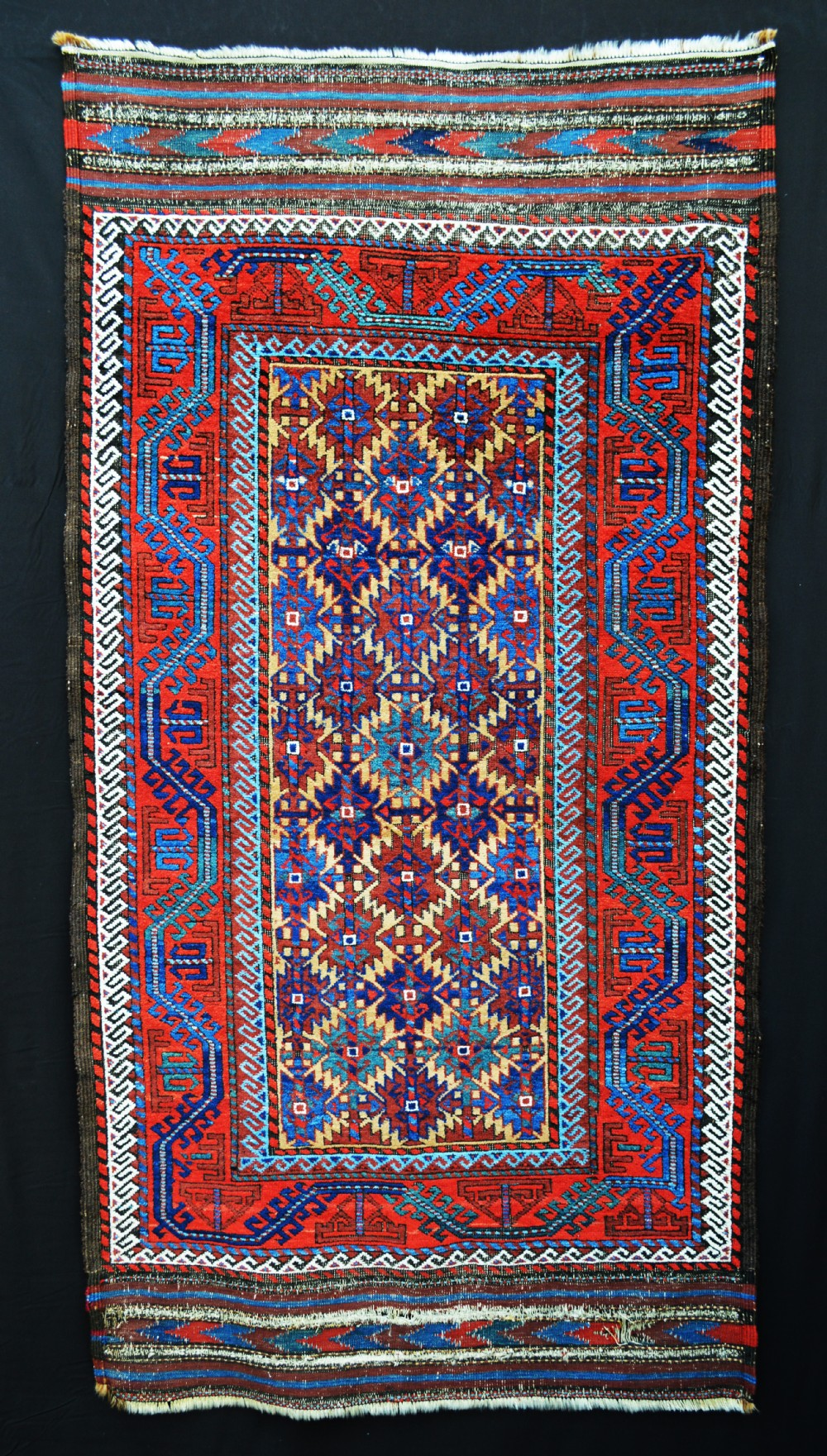 antique baluch tribal rug khorassan province northeast persia