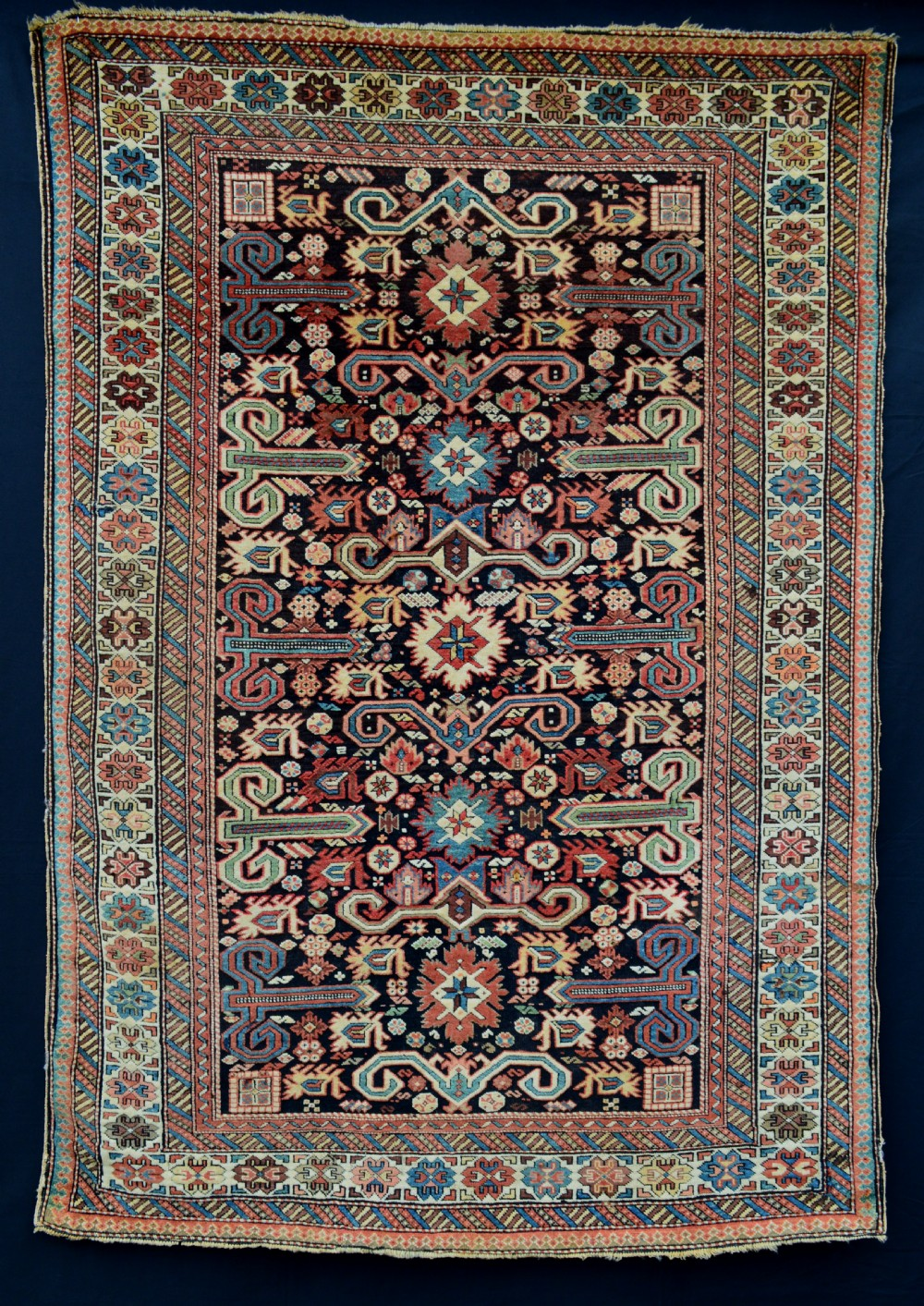 antique perepidal rug eastern caucasus