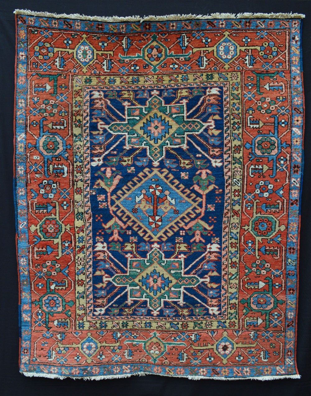 antique karaja rug karaja northwest persia