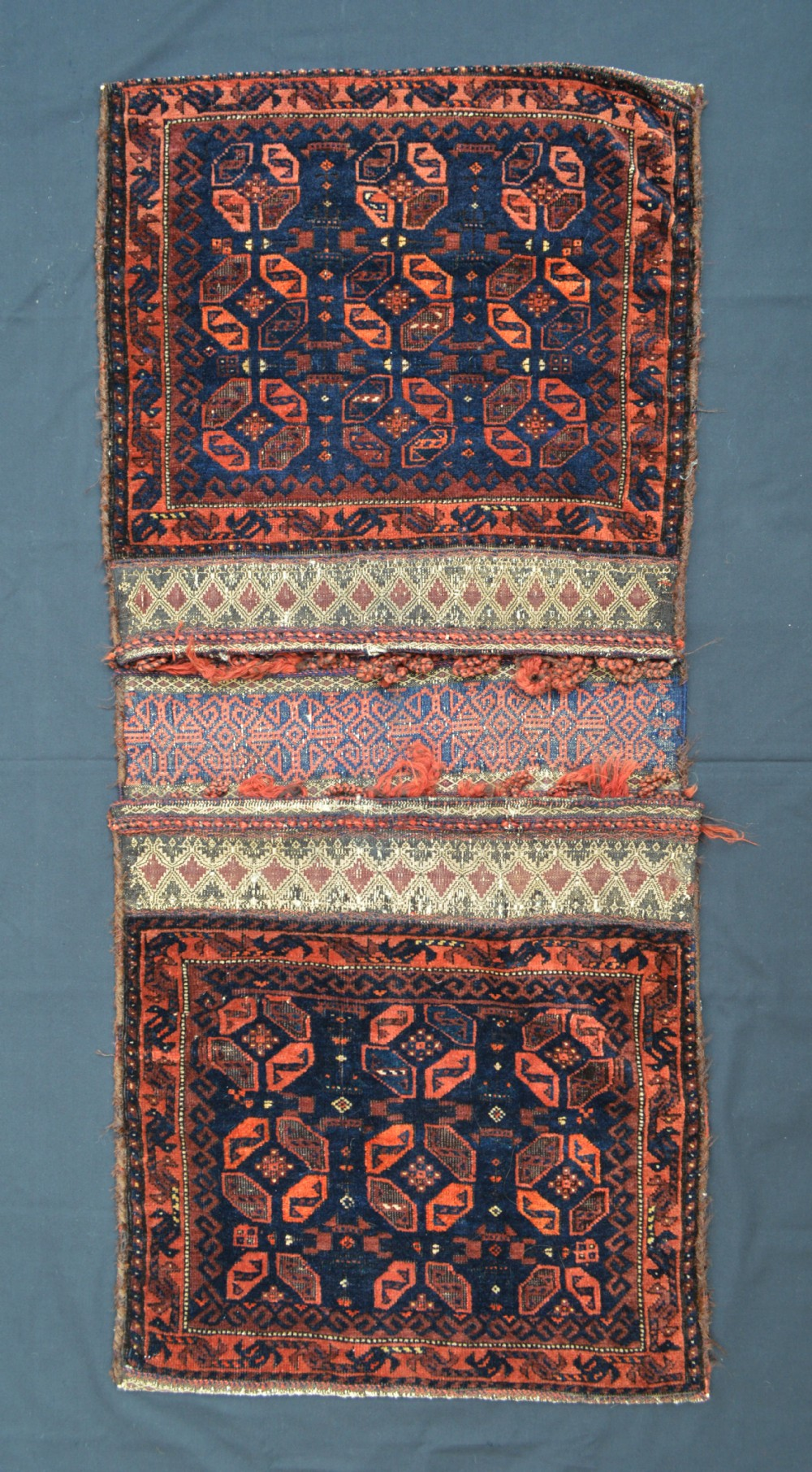 antique pair of saddlebags timuri tribes western afghanistan