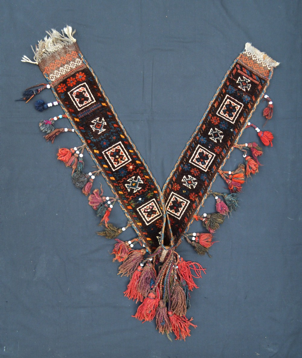 antique camel decoration baluch nomads western afghanistan