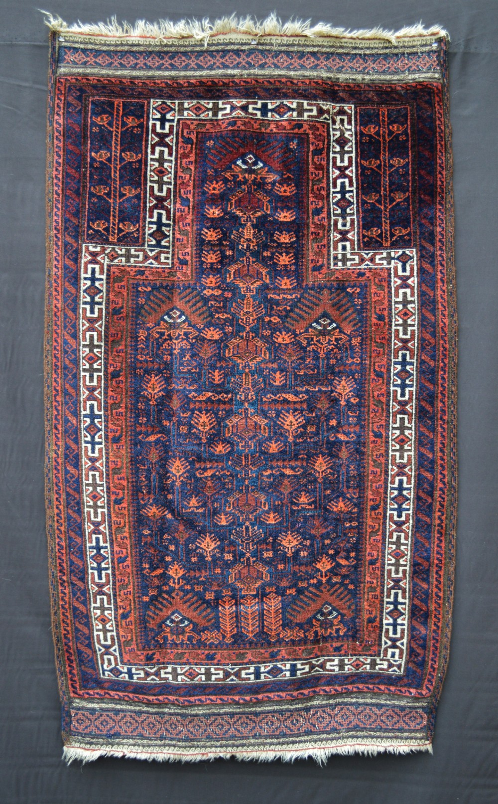 antique prayerrug timuri tribes borderlands of eastern persia and western afghanistan