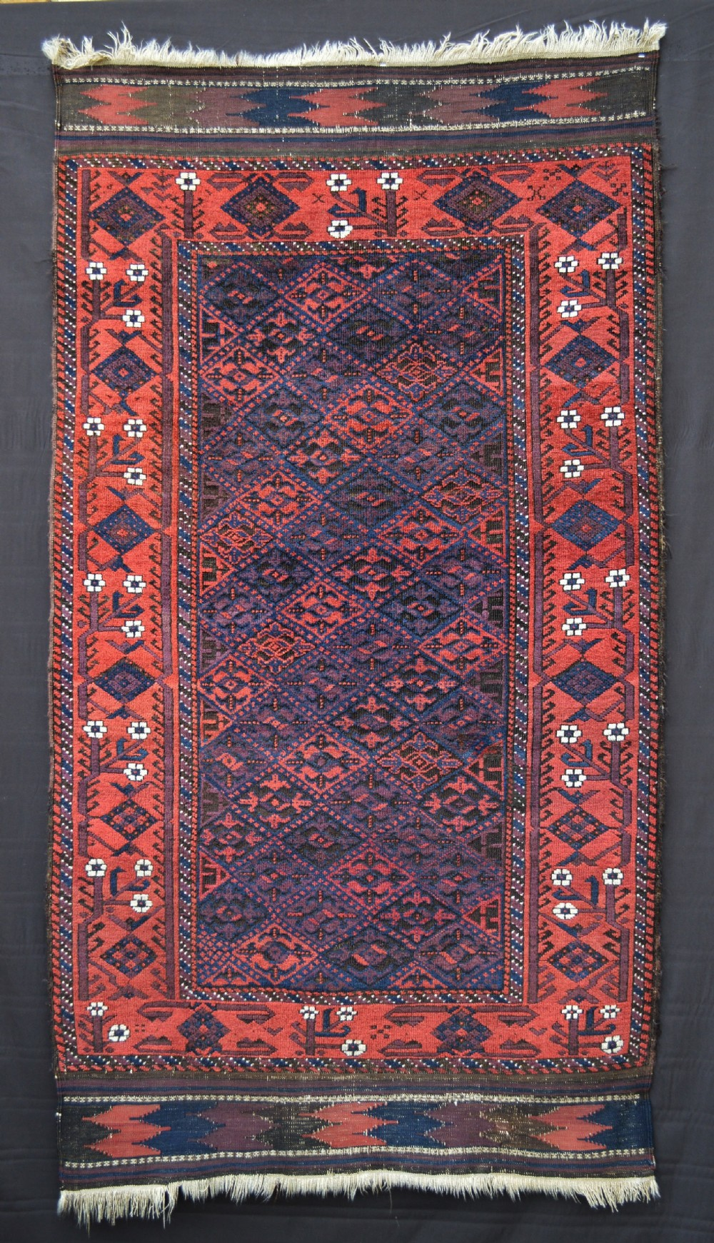 antique baluch rug ali mirza'i tribe khorassan province northeast persia