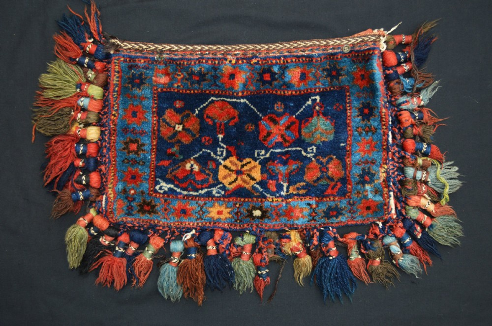 antique vanitybag afshar nomads kerman province southern persia