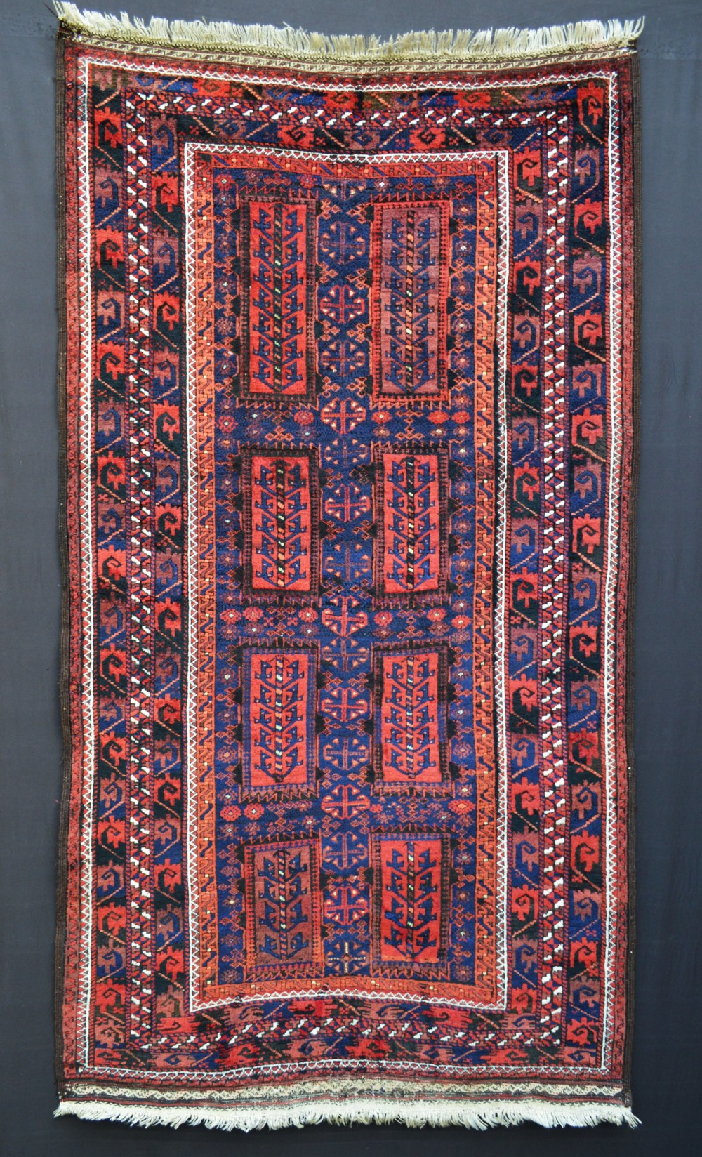 antique timuri tribal rug northeast persian borderlands with western afghanistan