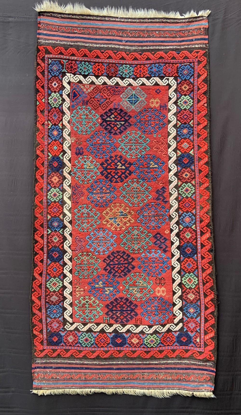 antique baluch rug bahluli subtribe sistan province southeast persia