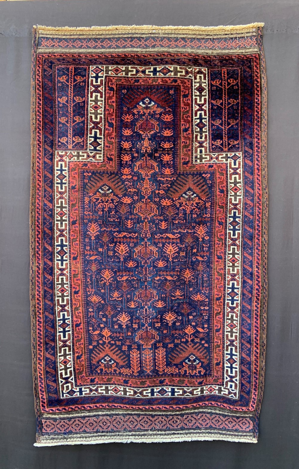 antique prayerrug timuri tribes borderlands of eastern persia western afghanistan