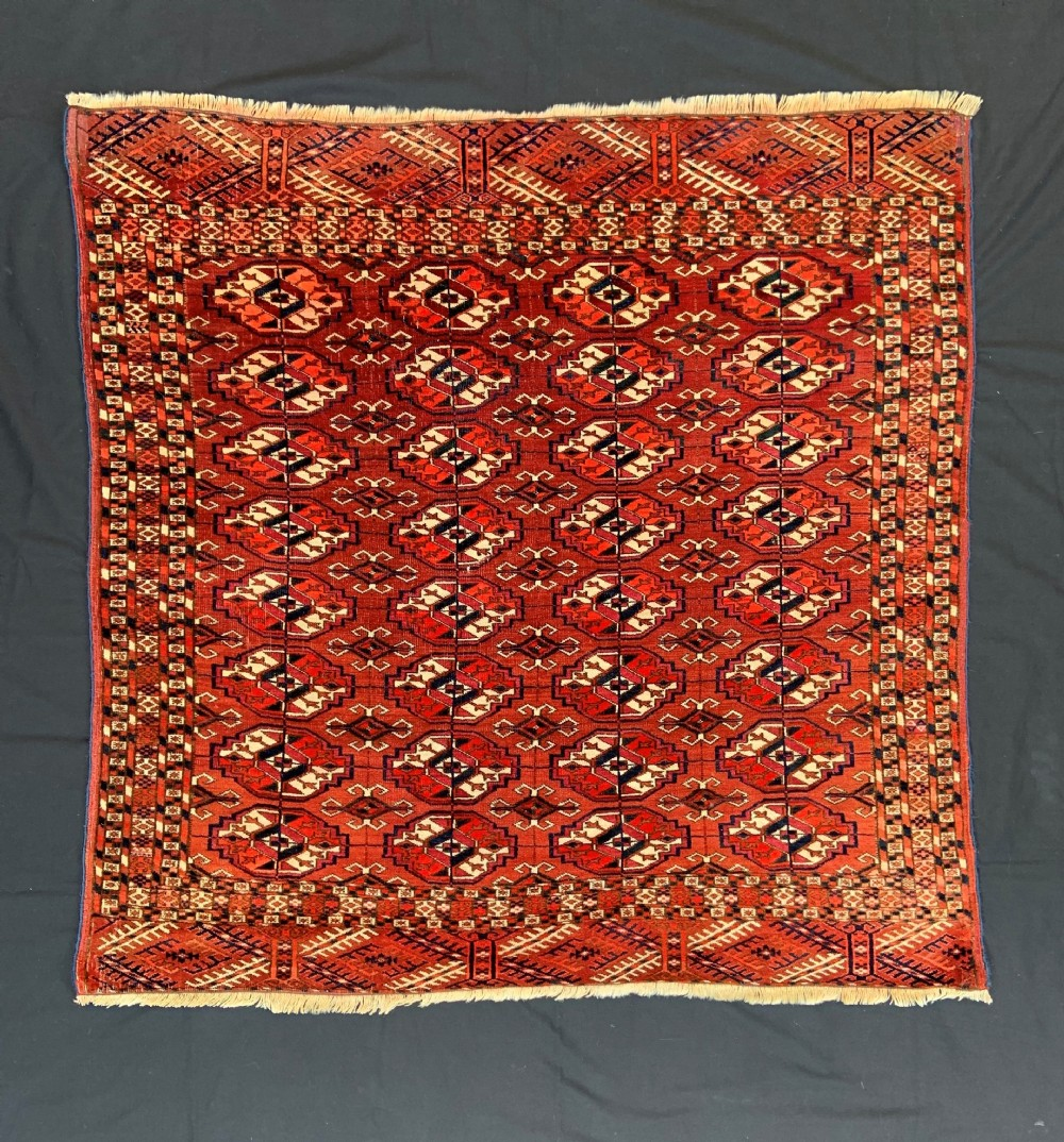 antique turkmen wedding rug teke tribes turkmenistan central asia