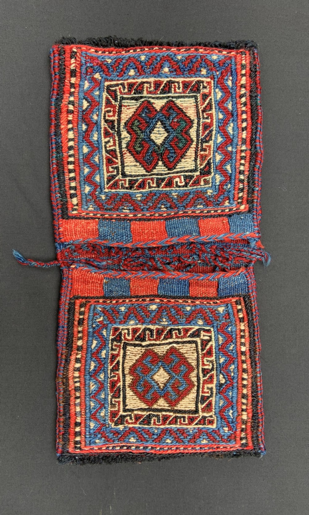 antique pair of mini bags bakhtiari nomads the chahar mahal western persia