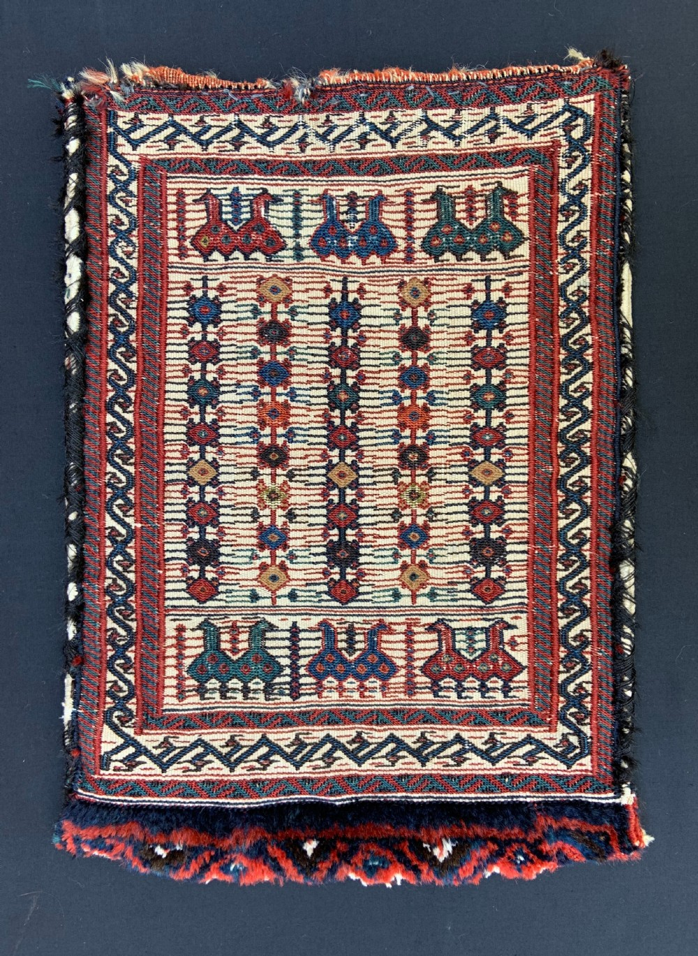 antique spindlebag bakhtiari nomads the chahar mahal western persia