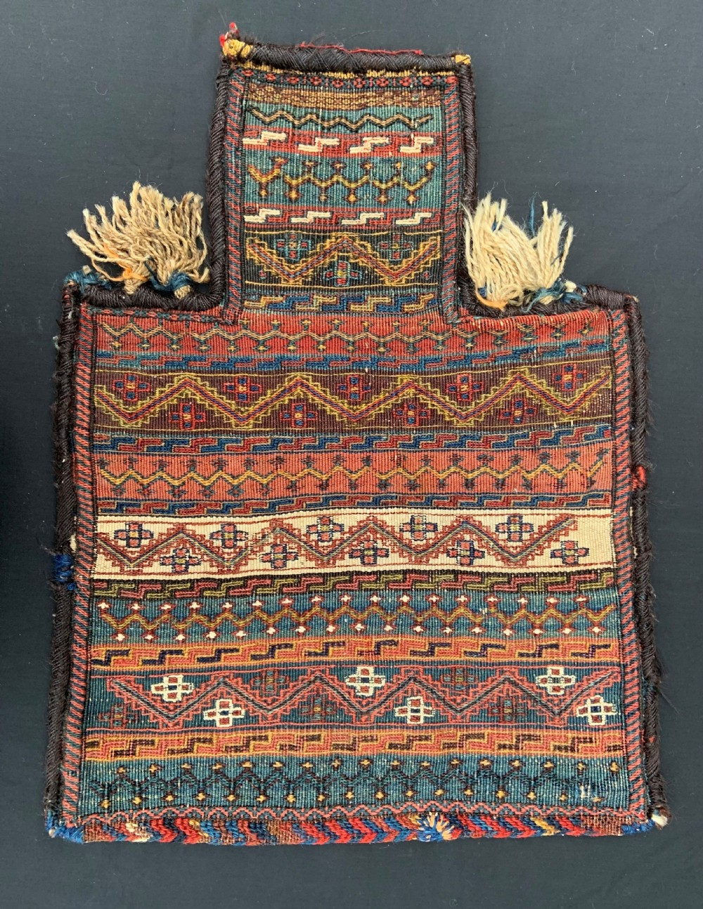 antique saltbag bakhtiari nomads the chahar mahal region western persia